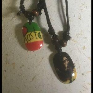 Bob Marley necklaces